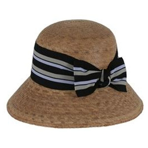 Tula® 'Ella' Hat with Multi Striped Bow