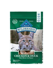 Blue Buffalo Wilderness Treats Chicken/Duck Cat 2OZ C=12