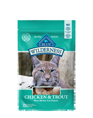 Blue Buffalo Wilderness Treats Chicken/Trout Cat 2OZ C=12