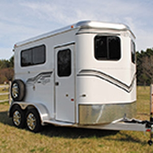 Kingston Classic Elite All Aluminum 2-Horse Trailer