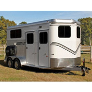 Kingston Classic Elite All Aluminum 2-Horse w/Dressing Room Trailer