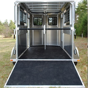 Kingston Classic Standard All Aluminum 2-Horse Trailer