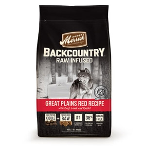 Backcountry Grain Free Great Plains Red Meat Adult Dry Dog Food