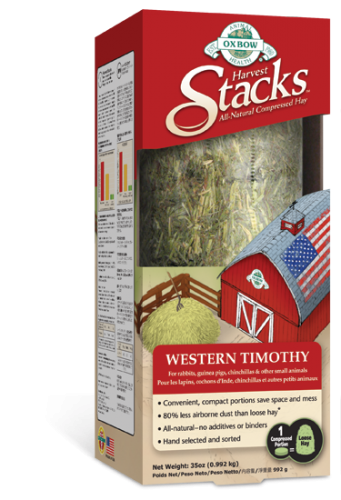 Oxbow Harvest Stacks Western Timothy with Chamomile 6/35OZ