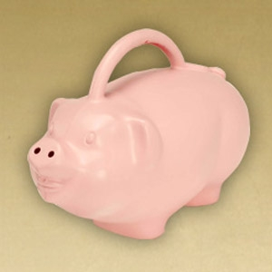 Novelty 'Babs' Pig Watering Can