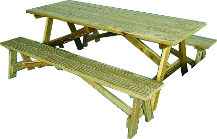 Picnic Table 6' 6