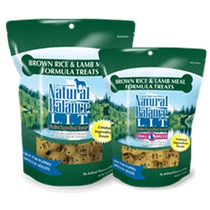 L.I.T. Limited Ingredient Treats® Biscuits Brown Rice & Lamb Meal Formula Treats