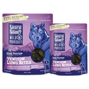 Natural Balance® Wild Pursuit™ Venison Lung Bites Dog Treats