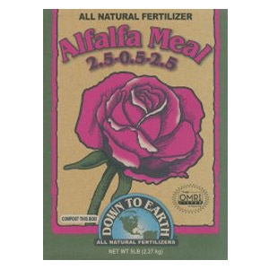Down to Earth® Alfalfa Meal Soil Conditioner