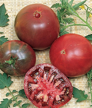 'Black Krim' Heirloom Tomato
