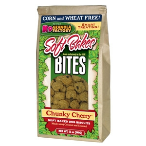 Soft Bakes Bites Chunky Cherry Dog Treats