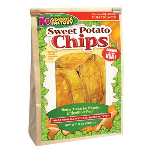 Sweet Potato Chips Dog Treats