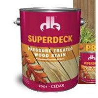 Superdeck Pressure Treated Woodstain