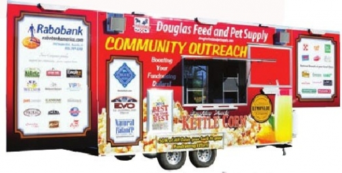 Kettle Corn Trailer