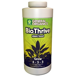 GenHydro™ BioThrive® Grow - Vegan Plant Food