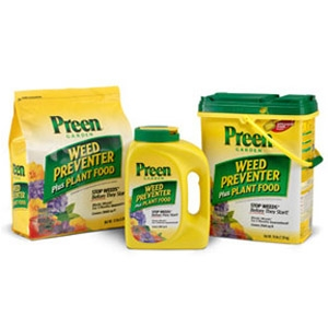 Preen® Weed Preventer Plus Plant Food