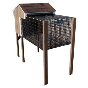 Lancaster Rabbit Hutch - Single 2' x 4'