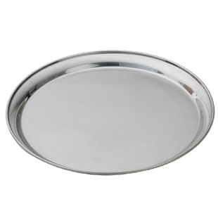 Tray, 19″ Round Silver