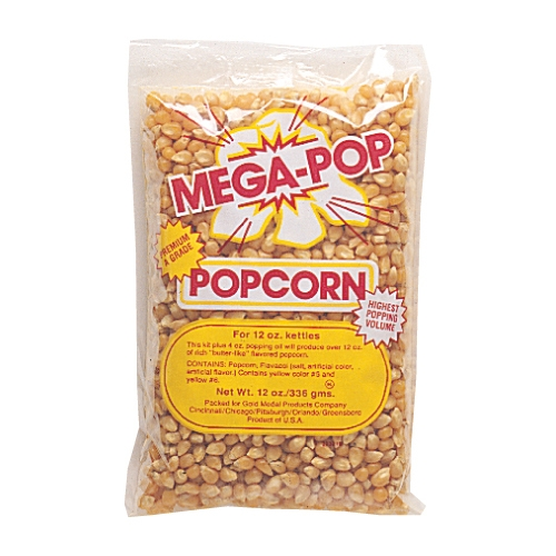 Popcorn kit for an 8 oz popcorn machine (10.6 oz. package )