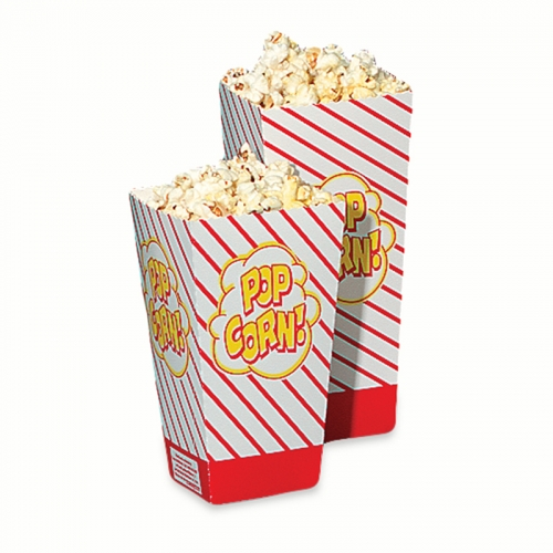 Popcorn boxes 50 ct. pack