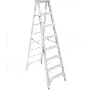 8' Type IAA Aluminum Stepladder