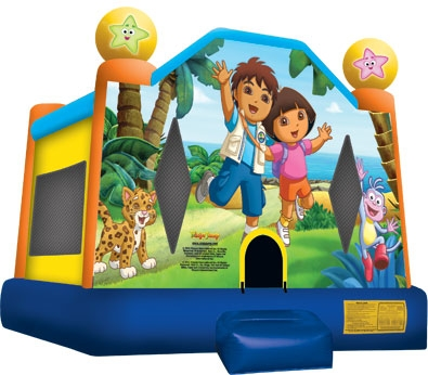 Diego & Dora Bounce House