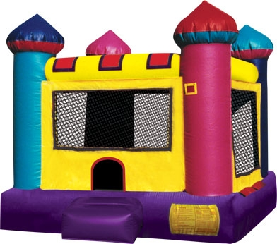 Mini Castle Bounce House (toddlers only 2 to 3 yrs old)