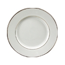 Ivory w/ Gold Band China-Dinner Plate (10″)