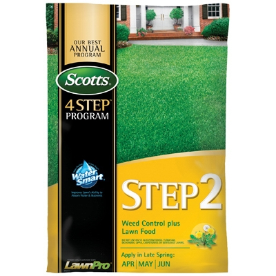 Scotts Lawn Program Step 2 Weed Control Plus Fertilizer, 5K