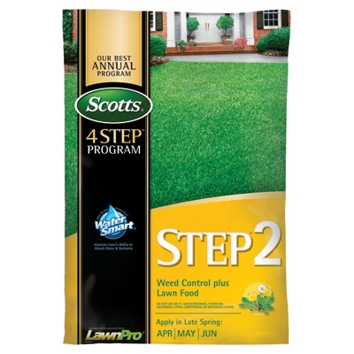 Scotts Lawn Program Step 2: Weed Control Plus Lawn Food, 15K
