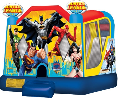 Justice League Combo Bounce House