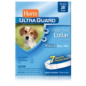 Hartz® UltraGuard™ 20'' Flea & Tick Collar for Dogs