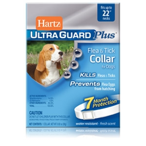Hartz® UltraGuard Plus™ Flea & Tick Collars for Dogs 22""