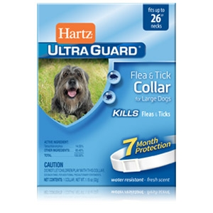 Hartz® UltraGuard™ 26'' Flea & Tick Collar for Large Dogs