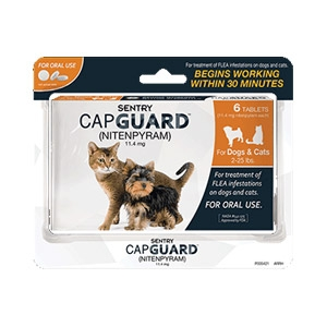 Sentry® CapGuard™ Flea Medication for Dogs & Cats