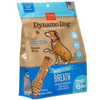 Dynamo Dog Dental Bones: Breath