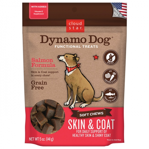 Dynamo Dog® Soft Chews: Skin & Coat