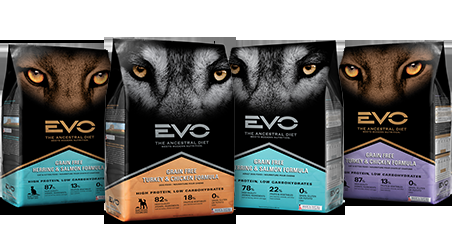 EVO Dog and Cat Foods