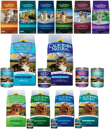 California Natural Pet Food