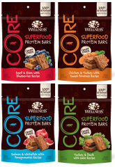 Wellness® CORE® Superfood Protein Bars Dog Treats