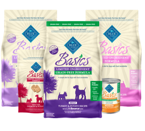 BLUE™ Basics® Limited Ingredient Diet Dog Food