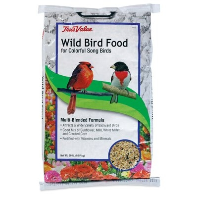 True Value Wild Bird Food, 20 lb.