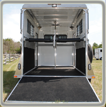 Belvedere Classic All Aluminum 2-Horse Gooseneck Kingston Trailer