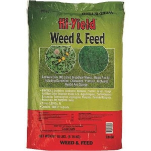 Hi-Yield Weed & Feed Fertilizer 15-0-10