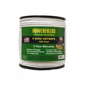 Powerfields 6 Wire Hot Rope