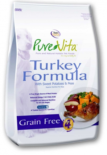 PureVita™ Turkey Grain Free Formula Dog Food