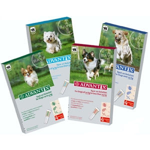 K9 Advantix® II Topical Flea & Tick Application