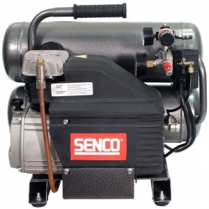Senco Brands 2 1/2 HP 4.3 Gal Oil Twin Tank Compressor