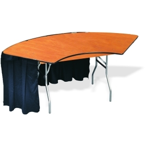 P.S. 100 Series - 4' ID x 9' OD Serpentine Table