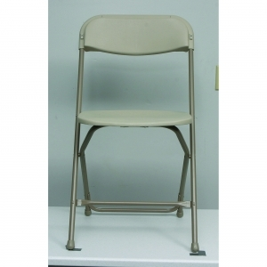 Folding Chairs - Bone Seat/Back Natural Frame/Feet